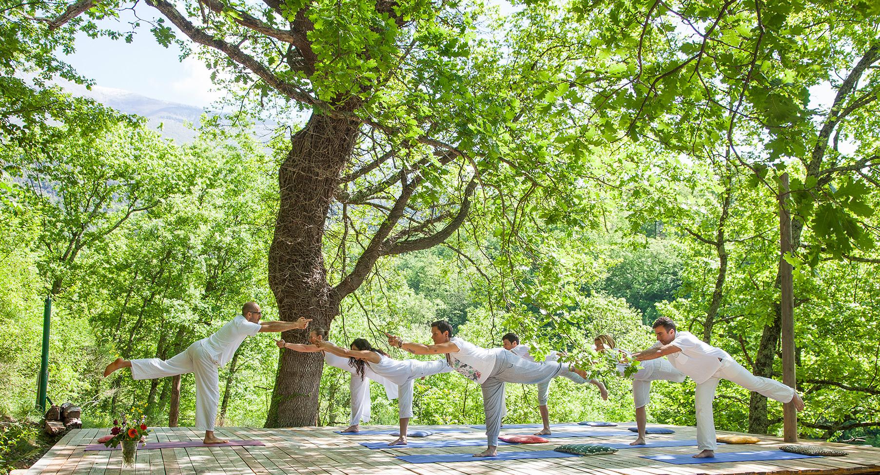 yoga farm retreat italy